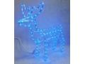 Renifer led 66x62x30 niebieski