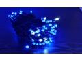 Lampki zewnętrzne 100led niebieskich  + zimny błys