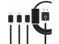 Kabel ładowarka kabel LIGHTNING IPHONE MICRO USB C