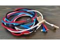 Kabel micro USB boczny nylon 100cm aluminium