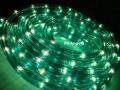 Wąż Świetlny 24 metry zielony + prog.