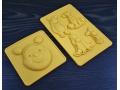 Forma silikonowa 2szt postacie z puchatka Disney