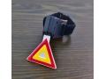 Lampka rowerowa tył trójkąt bardzo mocna 7 funkcji