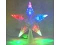 Gwiazda 10led czubek multikolor - Lampki Choinkowe