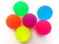 Piłeczka kauczukowa 43mm mix kolorów