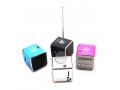 RADIO GŁOŚNIK PRZENOŚNY USB microSD FM MP3