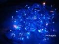 Niebieskie lampki ryż 100szt