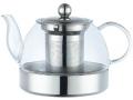 Szklany czajniczek do zaparzania herbaty indukcja.