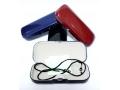 Etui na okulary ze sznurkiem i szmatką