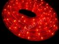 Wąż Świetlny 50 metrów czerwony + prog