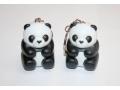 Breloczek z latarką Panda