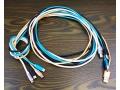 Kabel do ładowania USB-C + data nylon szybki 2m