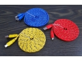 Kabel micro USB nylon kolor płaski 300cm