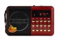 Mini radio FM - czytnik USB, microSD , Jack 3,5