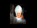 Obraz podświetlany z Papieżem