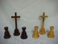 Zestaw kolędowy drewniany - dwa kolory