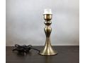Lampka nocna stalowa anodowana miedziana 25cm