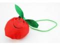 Torba na zakupy  składana jabłko 36x38cm