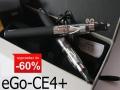 2x E-PAPIEROS ELEKTRONICZNY eGo-CE8+LIQUID 1800mAh