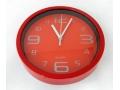 Zegar ścienny wskazówkowy pływający 20cm