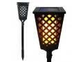 Pochodnia LAMPA LED Lampka SOLARNA Ogrodowa Ogień
