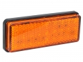 LAMPA OBRYSOWA 27 LED 12/24V POMARAŃCZOWA