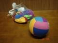 Piłka z materiałem 12cm