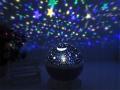 Lampa nocna lampka projektor gwiazd LED