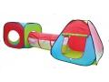 Namiot ogrodowy tunel DOMEK iglo dla dzieci 3w1