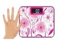 Elektroniczna szklana mini waga łazienkowa  180kg