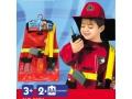 Kostium strażaka dla chłopca - dużo akcesoriów