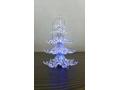 Choinka akrylowa led 11cm drzewko
