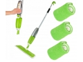 Zestaw Mop płaski spryskiwaczem spray mop + wkłady
