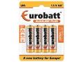 Baterie LR06 Alkaline Plus AA - LR06-BP4