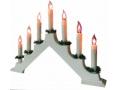 ŚWIECZNIK ADWENTOWY 7 LED LAMPKI CHOINKOWE