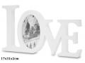 RAMKA NA ZDJĘCIE NAPIS LOVE A-109630