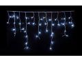 Lampki Sople 100 LED Z Białe Zimne Flash