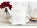 ZESTAW DO HERBATY TEA FOR ONE BIAŁY 444-421