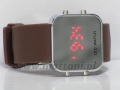 ZEGAREK LED WATCH / BROWN / 598/599