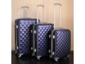 Zestaw walizek 3szt z tworzywa ABS 4 kołka walizki