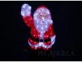 Mikołaj LED Akryl