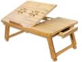 Drewniany stolik pod laptop