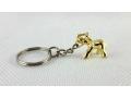 Słonik mały złoty breloczek 2,5cm