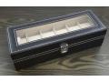 Przeszklone pudełko szkatułka na 6 sztuk zegarków