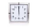 Niesamowity duży zegar ścienny kwadratowy