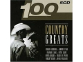 100 Country Greats 5CD CASH LAINE JENNINGS ROGERS