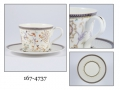 ENGLISH FILIŻANKA  ZE SPODKIEM 167-4737 BONE CHINA