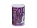 SKARBONKA METALOWA PUSZKA 15cm EURO