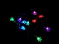 Lampki Trop Płatek Śniegu Kolor 3537