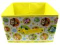 Pudełko organizator nowe wzory 29x29x18 - Żółty